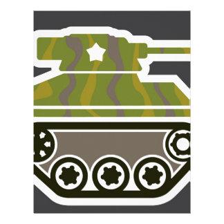 Tank Icon Letterhead