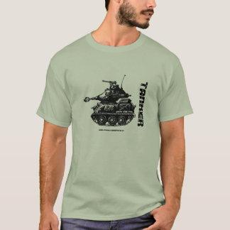 Tank ink pen drawing art military t-shirt design