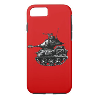 Tank ink pen drawing iPhone 7 case