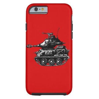 Tank ink pen drawing tough iPhone 6 case