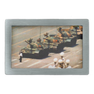Tank Man Belt Buckle