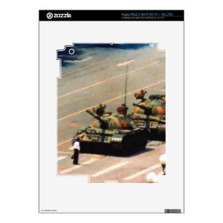 Tank Man iPad 3 Skin by LibertyManiacs.com