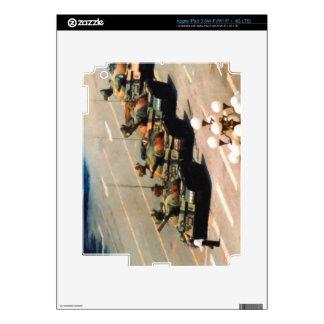Tank Man iPad Skin