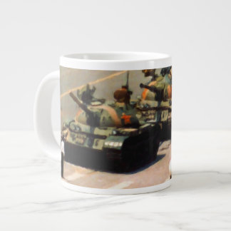 Tank Man Painting Jumbo Mug