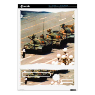 Tank Man Painting Xbox 360 S Console Decal