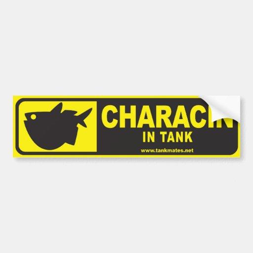 Tank Mates bumper sticker series 1-Characin