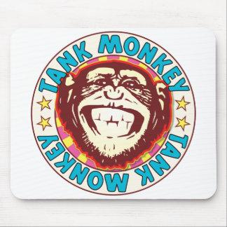 Tank Monkey Mouse Pad