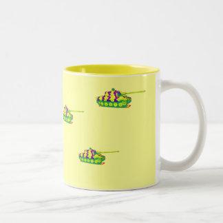 Tank Mug... Two-Tone Coffee Mug