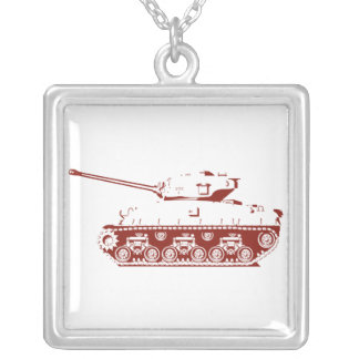 Tank Necklace (red)