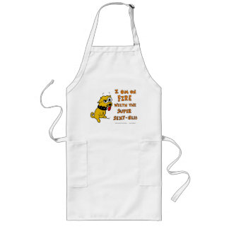 "Tank ""ON FIRE WEETH SUPER SEXY-NESS"" Apron"