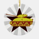 Tank Ornament (starburst)