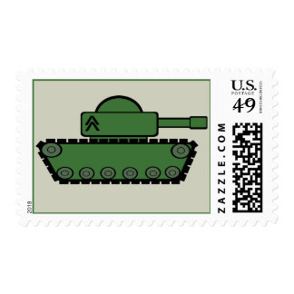 Tank Party Stamp