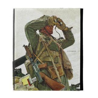 Tank Patrol iPad Folio Case