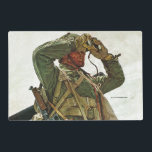 "Tank Patrol Placemat<br><div class=""desc"">Mead Schaeffer 