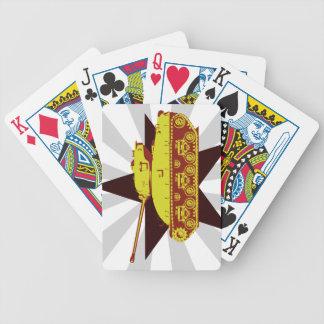 Tank Playing Cards (starburst)
