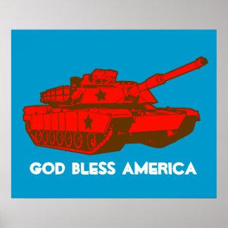Tank Print