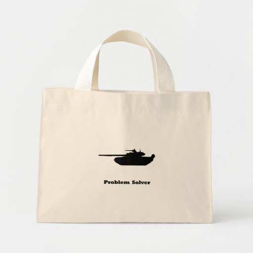 Tank Problem Solver Tote Bags