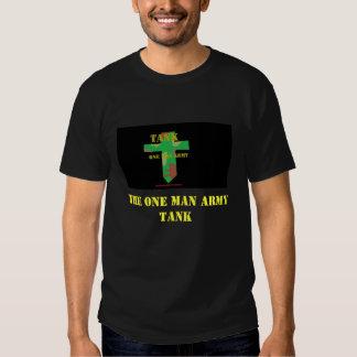 Tank Shirt, The One Man Army TANK