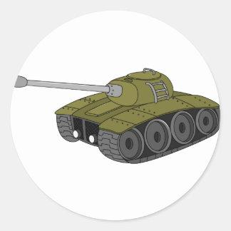 tank round sticker