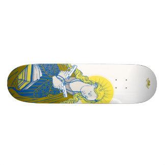 "Tank Theory ""Virgin Harriett"" Skateboard Deck"