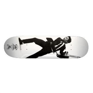 "Tank Theory ""White Collar Revolt"" Skateboard Deck"