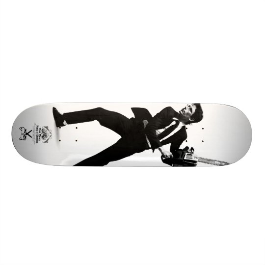 "Tank Theory ""White Collar Revolt"" Skateboard Deck"
