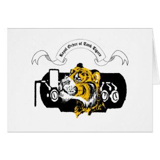 Tank Tiger Card