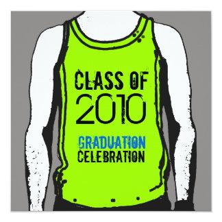 Tank Top Graduation Class Of 2010 Invitation 2