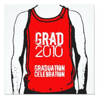 Tank Top Graduation Party 1 Invitation