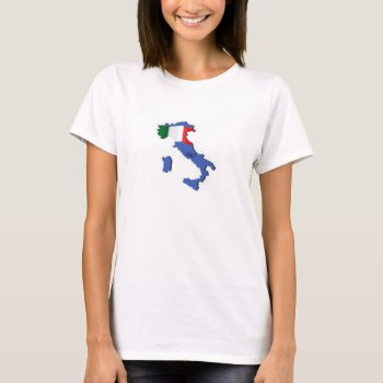 Tank Top   White   Italy  Map by creativeconceptss at Zazzle