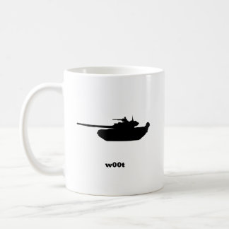 Tank w00t coffee mug