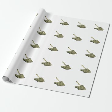 tank wrapping paper
