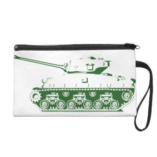 Tank Wristlet (green)