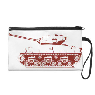Tank Wristlet (red)