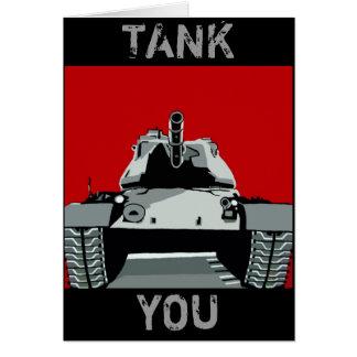 TANK YOU GREETING CARD