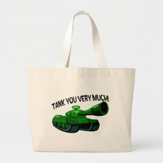 Tank You Very Much Large Tote Bag