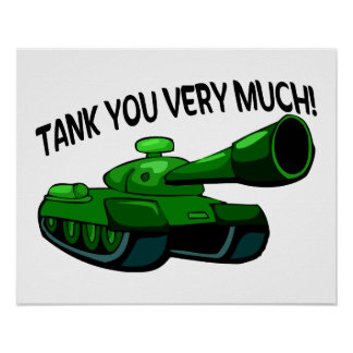 Tank You Very Much Poster