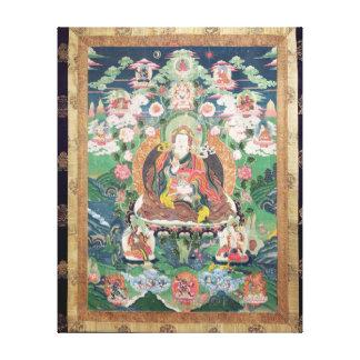 Tanka of Padmasambhava, c.749 AD Canvas Print