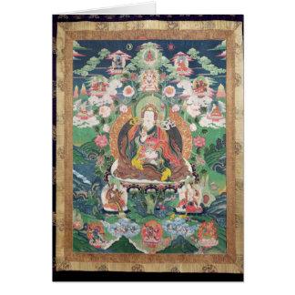 Tanka of Padmasambhava, c.749 AD Card