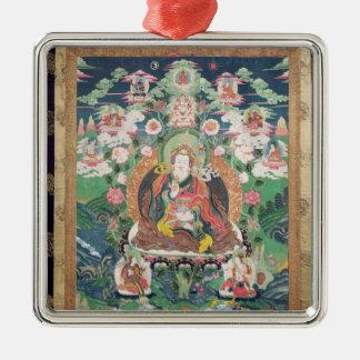 Tanka of Padmasambhava, c.749 AD Metal Ornament