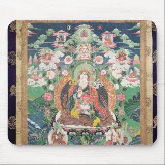 Tanka of Padmasambhava, c.749 AD Mouse Pad
