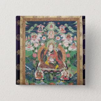 Tanka of Padmasambhava, c.749 AD Pinback Button