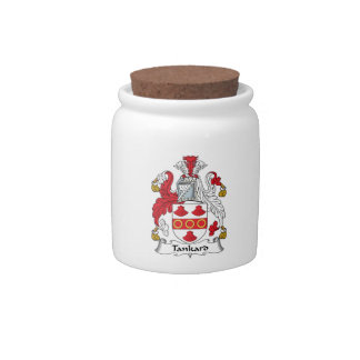 Tankard Family Crest Candy Dishes