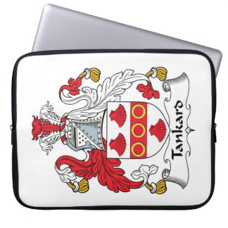 Tankard Family Crest Computer Sleeves