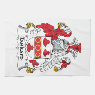 Tankard Family Crest Hand Towels