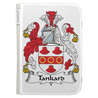 Tankard Family Crest Kindle Keyboard Case