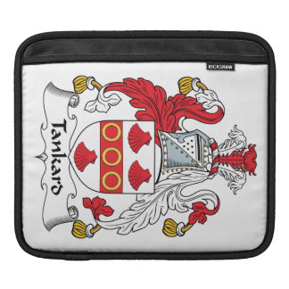 Tankard Family Crest Sleeves For iPads