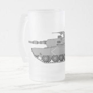 Tanker - 19K Best Job I Ever Had Frosted Glass Beer Mug
