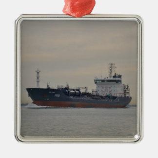 Tanker Selenka Metal Ornament