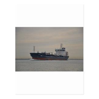 Tanker Selenka Postcard